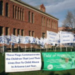 'Field of Hope: Planting the Seed of Awareness' dedication honors memory of 82 children who died statewide last year due child abuse and neglect