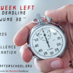 "Arizona Center for Afterschool Excellence reports June 30 is deadline to submit nominations for the ""2018 Arizona Out-of-School Time Awards of Excellence"""