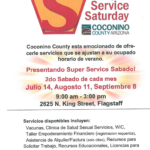 Coconino County continues Super Service Saturdays — Aug. 11, Sept. 8