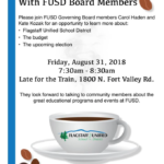 Coffee with FUSD Board Members on Aug. 31