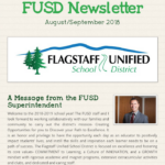 FUSD August/September 2018 newsletter. More FUSD news here