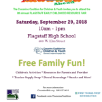Flagstaff Early Childhood Resource Fair to be held on Sept. 29
