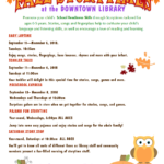 Flagstaff Public Library announces October events