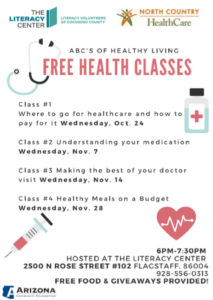 Health literacy classes