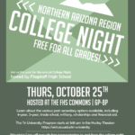 Northern Arizona College Night to be held at Flagstaff High School on Oct. 25