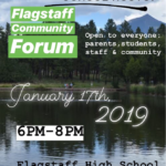 Flagstaff High School Hosts Flagstaff Community Forum on Jan. 17. See more FUSD news here
