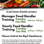 Feb. 19 — Grand Canyon Chamber presents Food Handler training in Tusayan