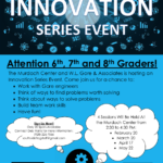 Feb. 20, March 20, April 17 and May 22 — Murdoch Center, W.L. Gore & Associates to present Innovation Series Event