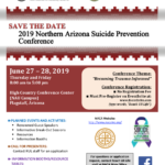 Save the Date: 2019 Northern Arizona Suicide Prevention Conference set for June 27-28 in Flagstaff