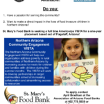Americorps VISTA position available at St. Mary's Food Bank in Flagstaff