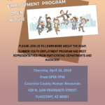 April 18 — SOAR Summer Youth Employment Program to hold open house