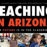 May 6 — TEACHING IN ARIZONA film screening event in Tucson to celebrate Teacher Appreciation Week