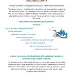 Coconino County Public Health Services District (CCPHSD) conducting bilingual Healthcare Information Survey