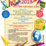 Sign up for Salvation Army Flagstaff's 2019 Back to School Backpack & School Supplies. See more local education news here