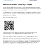 Victim Witness Services Coconino County: Help crime victims by taking a survey!