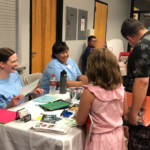 Connections Spotlight: Families take advantage of resources at Page Back-to-School Fair. See more countywide Back to School events here
