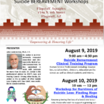 NACA to sponsor Suicide Bereavement Clinician Training workshops on Aug. 9, 10