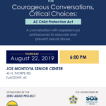 'Courageous Conversations, Critical Choices: AZ Child Protection Act' — program to be presented Aug. 22 in Flagstaff