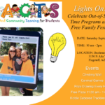 Education Spotlight: FACTS Lights On Family Festival to be held Sept. 7 in Flagstaff. See more local education news here