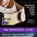 Connections Spotlight: Flagstaff Festival of Science (Sept. 20-29) kicks off with overflow space for Live-Streaming of Apollo Astronaut Talk on Sept. 20