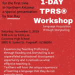 Coconino High School to hold one-day TPRS language workshop on Nov. 2