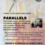 NACA presenting 'Parallels — Coping to Resiliency' Oct. 22/24 and Oct. 28/30
