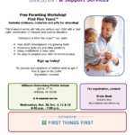 Nov. 20, Dec. 4, 11, 18 — Arizona's Children Association to present a 'Free Parenting Workshop First Five Years'