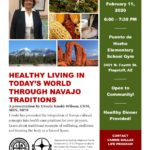 Feb. 11 — Healthy Living in Today's World through Navajo Traditions