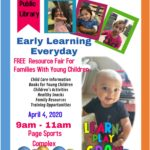 April 4 — Registration now open for Page Early Childhood Fair