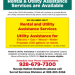 Bilingual update: Coconino County Rental or Move In Assistance with Utility Deposit
