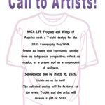 NACA LIFE Program, Wings of America issues Call to Artists for T-Shirt design for 2020 Community Run/Walk
