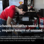 Arizona Legislative Education Spotlight: Save Our Schools initiative would limit ESA expansion, require return of unused voucher money. See more Arizona legislative education news here