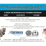 Through April 19 — Injury Prevention and Performance Enhancement Program for Powwow Youth 10-18 years in Flagstaff