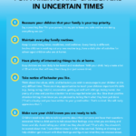 Bilingual update: Top Parenting Tips for Parents and Caregivers in Uncertain Times