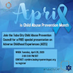 Tuba City Child Abuse Prevention Council to hold FREE presentation on Adverse Childhood Experiences (ACES) on April 28