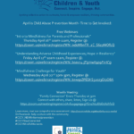 Connections Spotlight: April is Child Abuse Prevention Month — Time to Get Involved