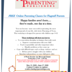 CPLC Parenting Arizona  special online Active Parenting of Teens Class starting May 13