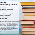 Curbside pickup service at Flagstaff City-Coconino County Public Library