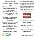 Bilingual update: WIC providing virtual and phone appointments
