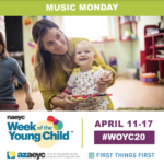 2020 Week of the Young Child events through April 17