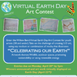 Enter the Willow Bend Virtual Earth Day Art Contest. Deadline is April 20