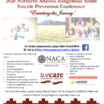 NACA's 2020 Northern Arizona Indigenous Youth Suicide Prevention Conference — 'Enriching  the Journey,' to be held Sept. 8-10
