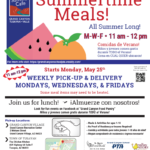 Bilingual update — Summer food programs available in Coconino County