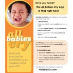 All Babies Cry app with coping tips for parents is free for a limited time!