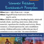 Flagstaff Family Food Center providing Summer Reading Enrichment Program
