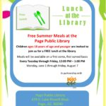 Free Summer Meals at the Page Public Library