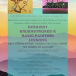 NACA to present 'Resilient Brushstrokes II: Basic Painting Lessons'