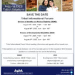 Arizona Department of Economic Security — Tribal Relations to present Tribal Information Forums