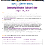 DEA 360 Northern AZ to present Community Educator Train-the-Trainer Aug. 5-6