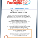 CPLC Parenting Arizona hosting special online Active Parenting Class ages 5 to 12 on Oct. 12, 19